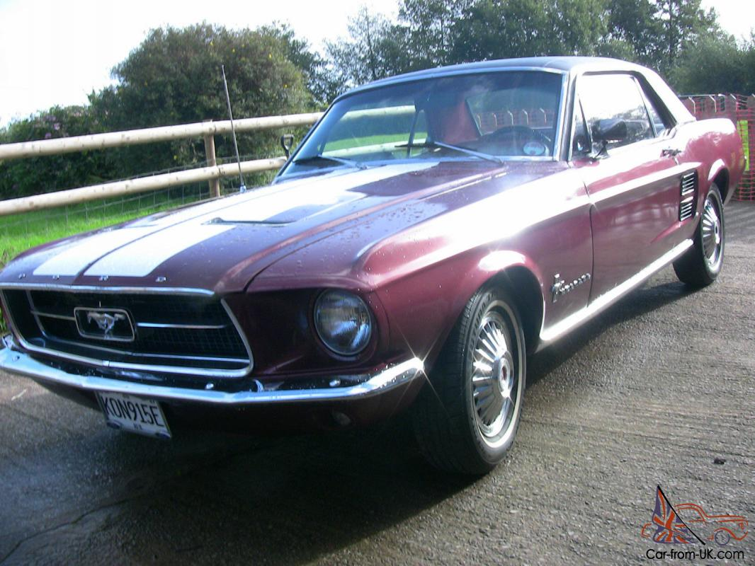 1967 ford mustang coupe. Black Bedroom Furniture Sets. Home Design Ideas