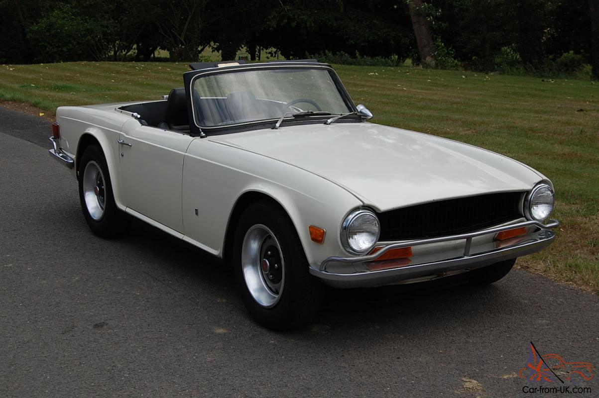 triumph tr6 1972 one owner from new full service history. Black Bedroom Furniture Sets. Home Design Ideas