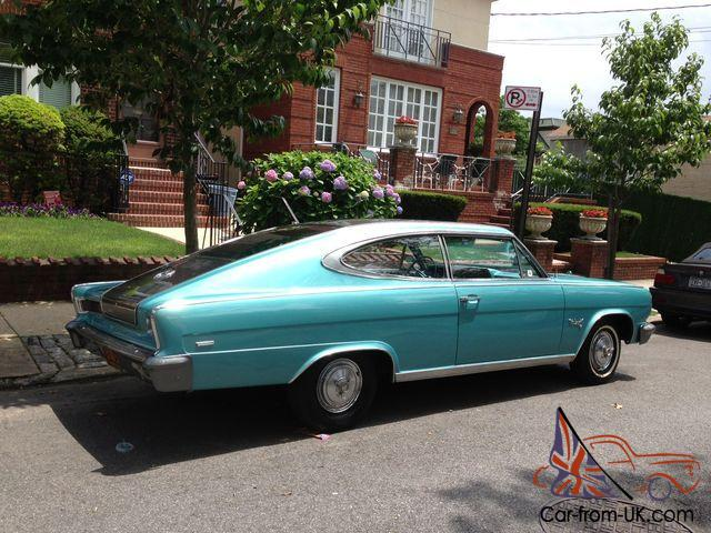 1965 RAMBLER MARLIN FASTBACK COUPE 45K  NEW PAINT INTERIOR ENGINE  TRANS