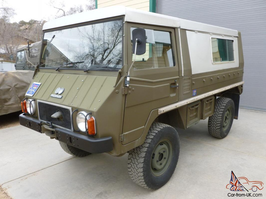 Unimog For Sale Usa >> Steyr Puch Pinzgauer 710 Military Off Road 4x4 Army Truck