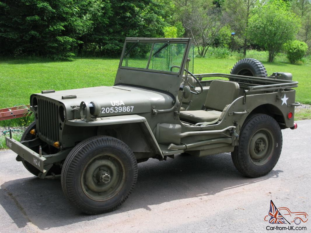 1945 willys mb military army jeep gpw. Black Bedroom Furniture Sets. Home Design Ideas