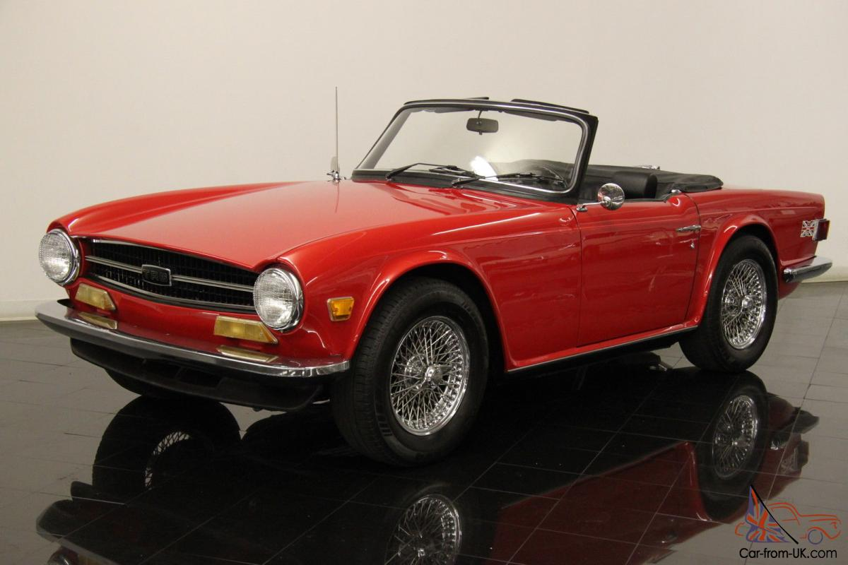 1973 triumph tr6 just completed professional ground up restoration. Black Bedroom Furniture Sets. Home Design Ideas