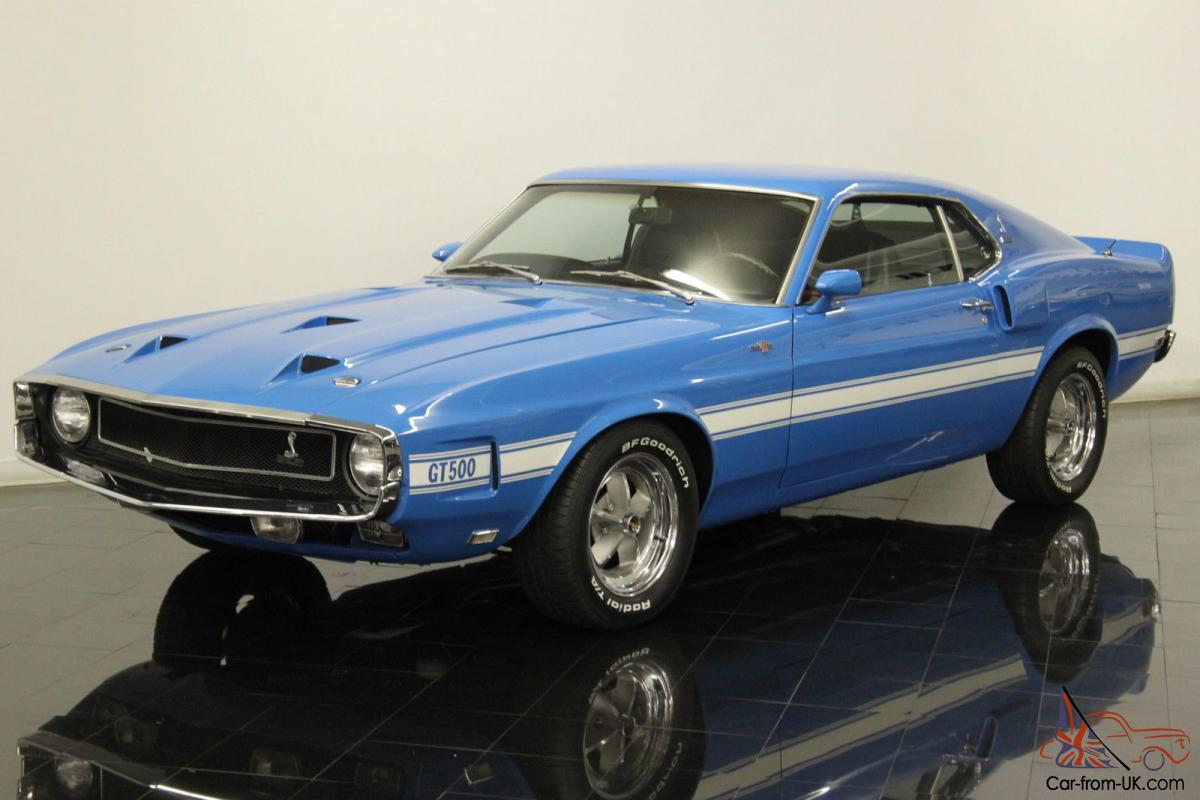 1969 Ford Shelby Gt500 Mustang Numbers Matching 428ci V8 4