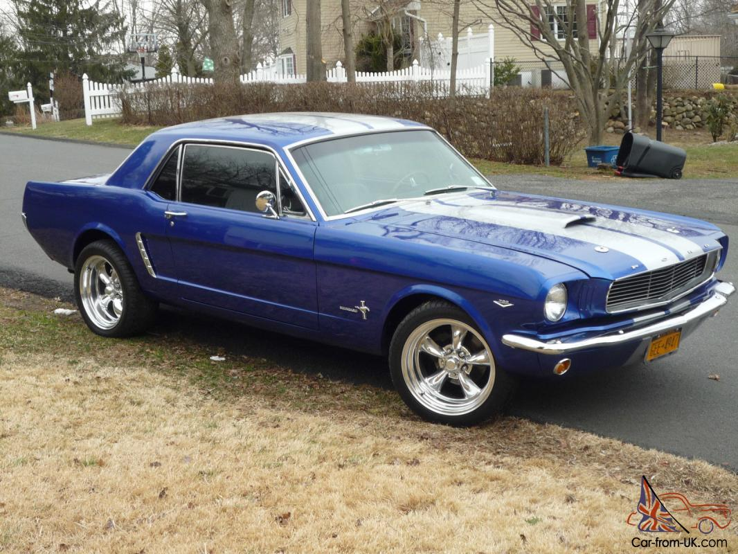 1965 ford mustang coupe restomod