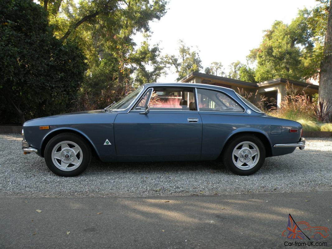 1974 Alfa Romeo Gtv 2000 Silver Black Interior Beautiful Must See