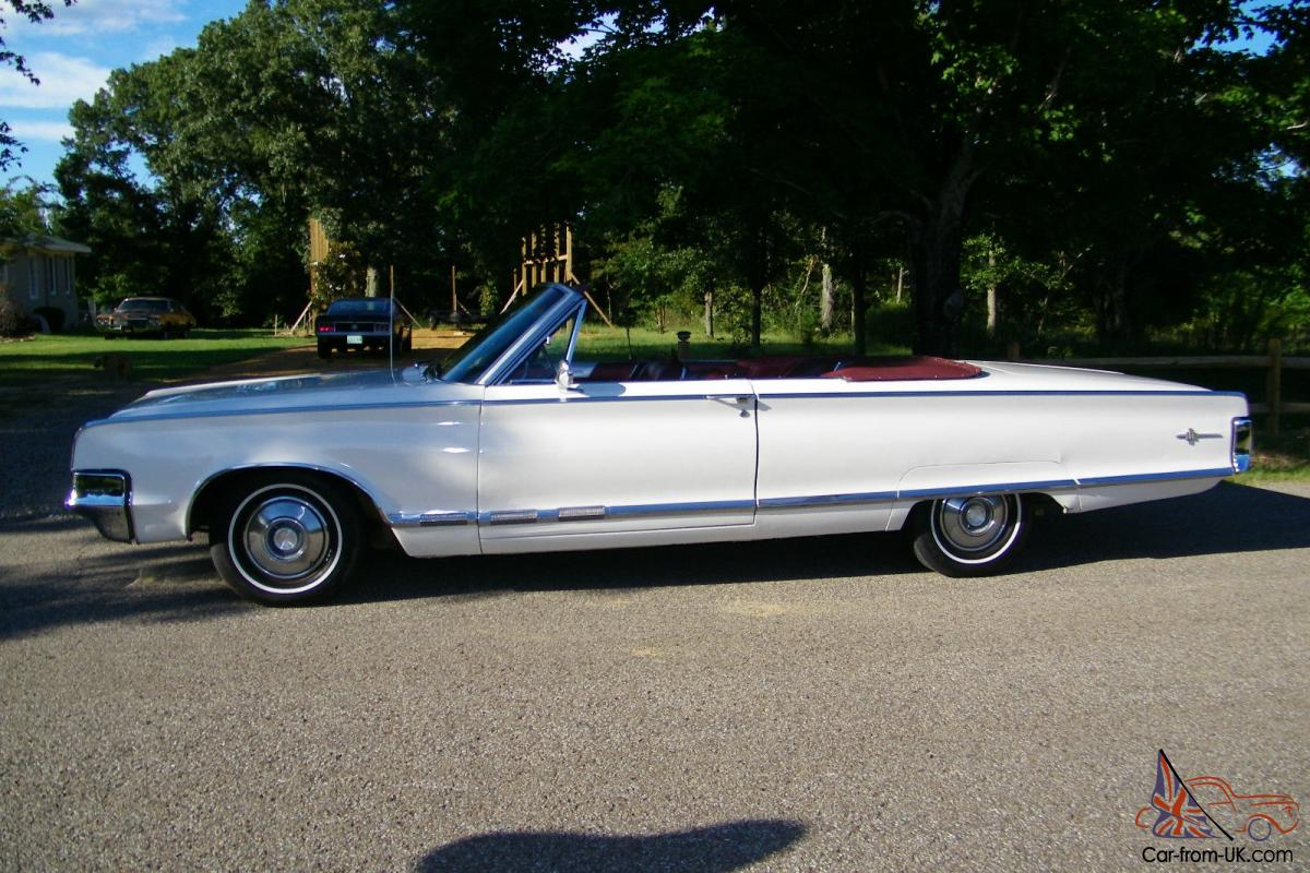 1965 chrysler 300 convertible survivor only 1416 made rare ac and leather. Black Bedroom Furniture Sets. Home Design Ideas