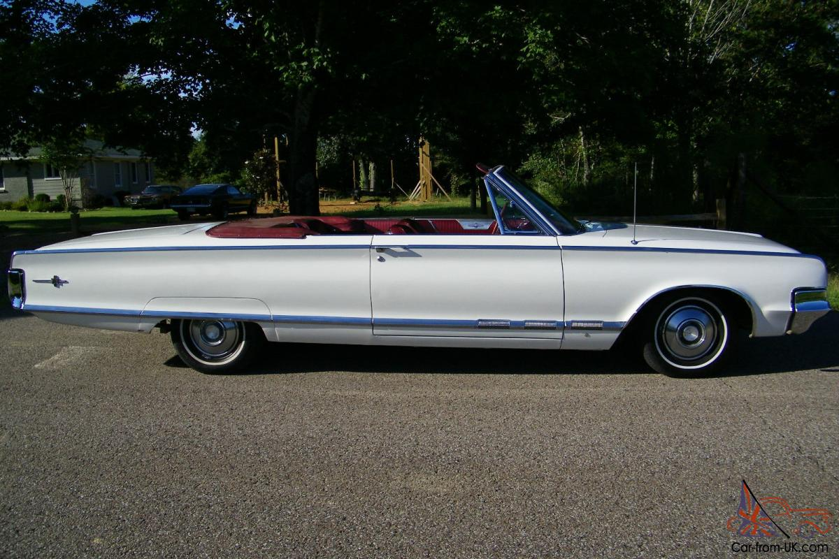 1965 Chrysler 300 Convertible Survivor Only 1416 Made