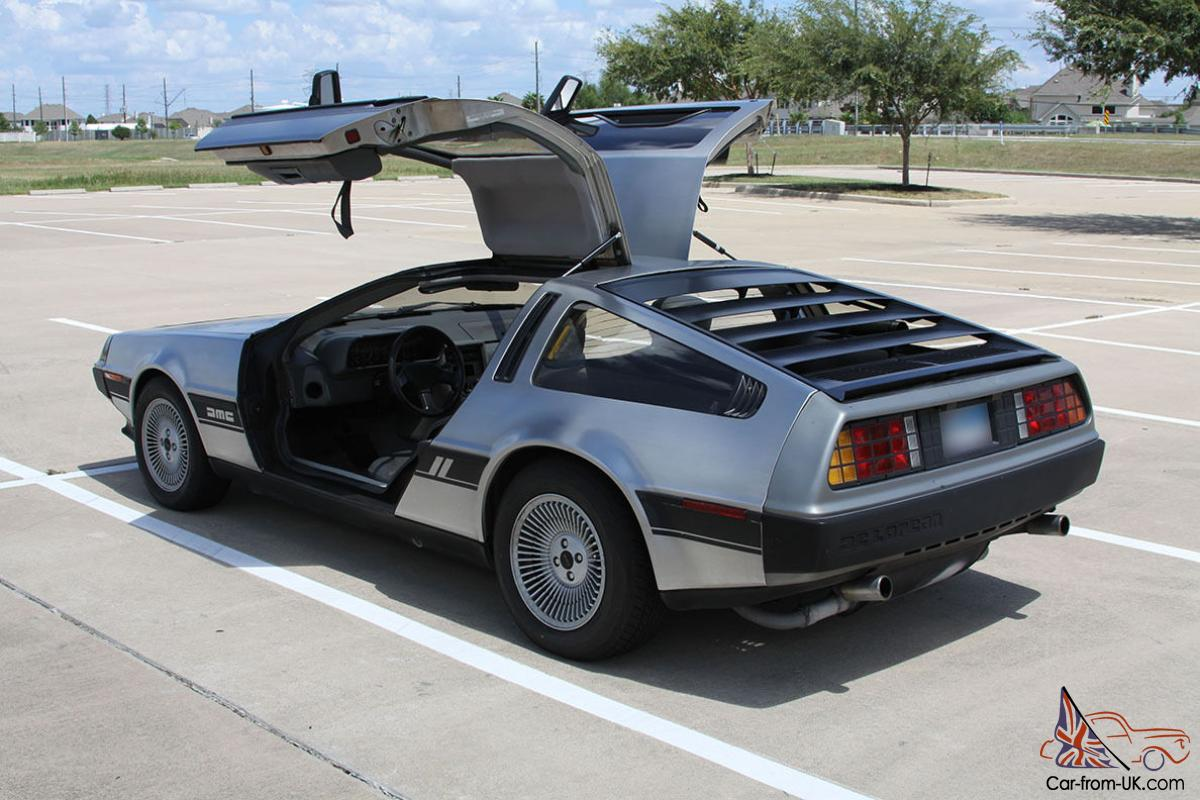 1981 delorean dmc 12 coupe 2 door gullwing. Black Bedroom Furniture Sets. Home Design Ideas