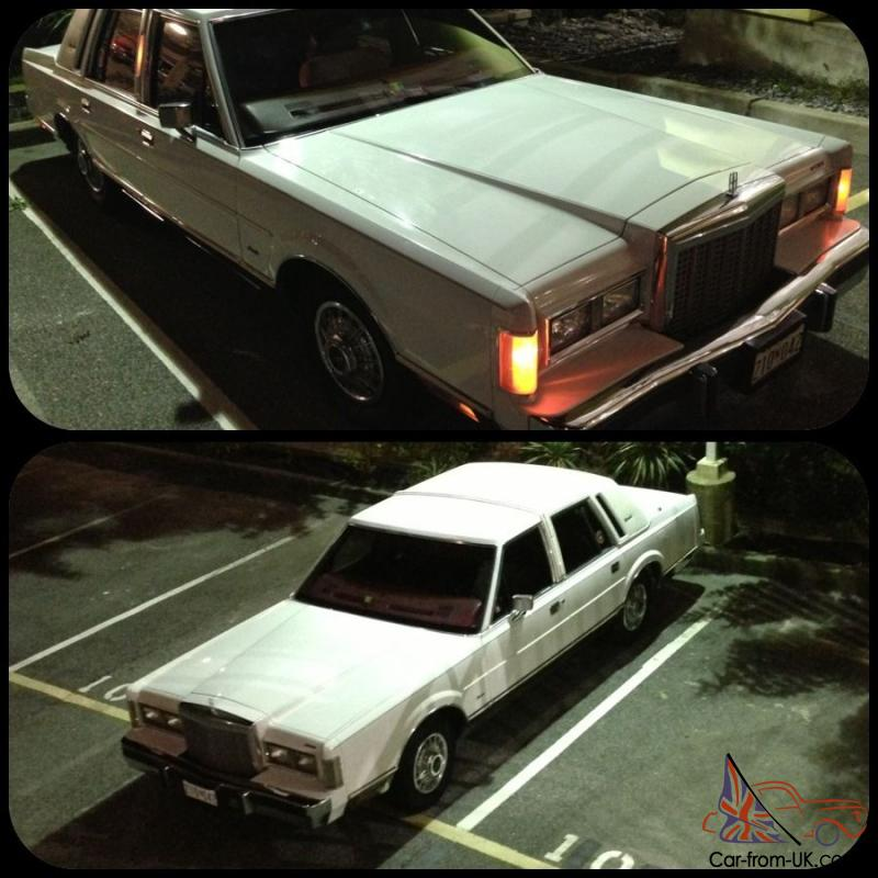 Lincoln Limo For Sale: 1986 Lincoln Town Car Signature Sedan 4-Door 5.0L