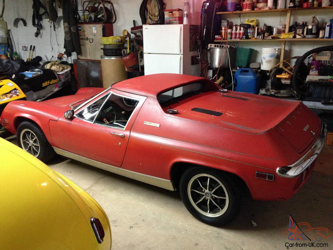 1974 Lotus Europa Special Big Valve Twin Cam 5 Speed