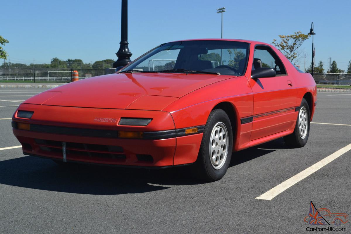time capsule 1987 mazda rx7 only 76 000 miles unmodified. Black Bedroom Furniture Sets. Home Design Ideas