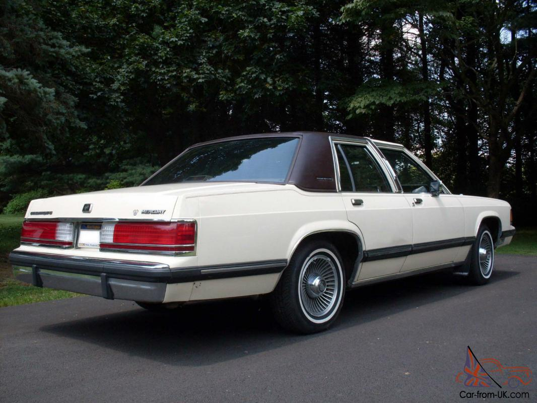 1989 Mercury Grand Marquis Sedan 4 Door 5 0l