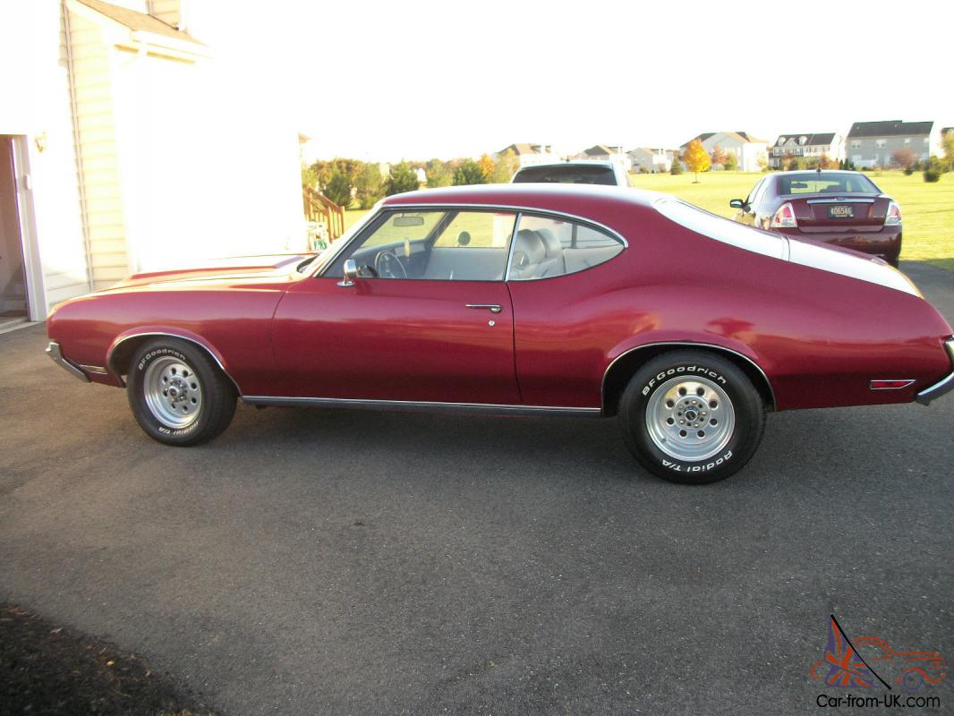 1971 oldsmobile cutlass classic american muscle car for American classic auto sales