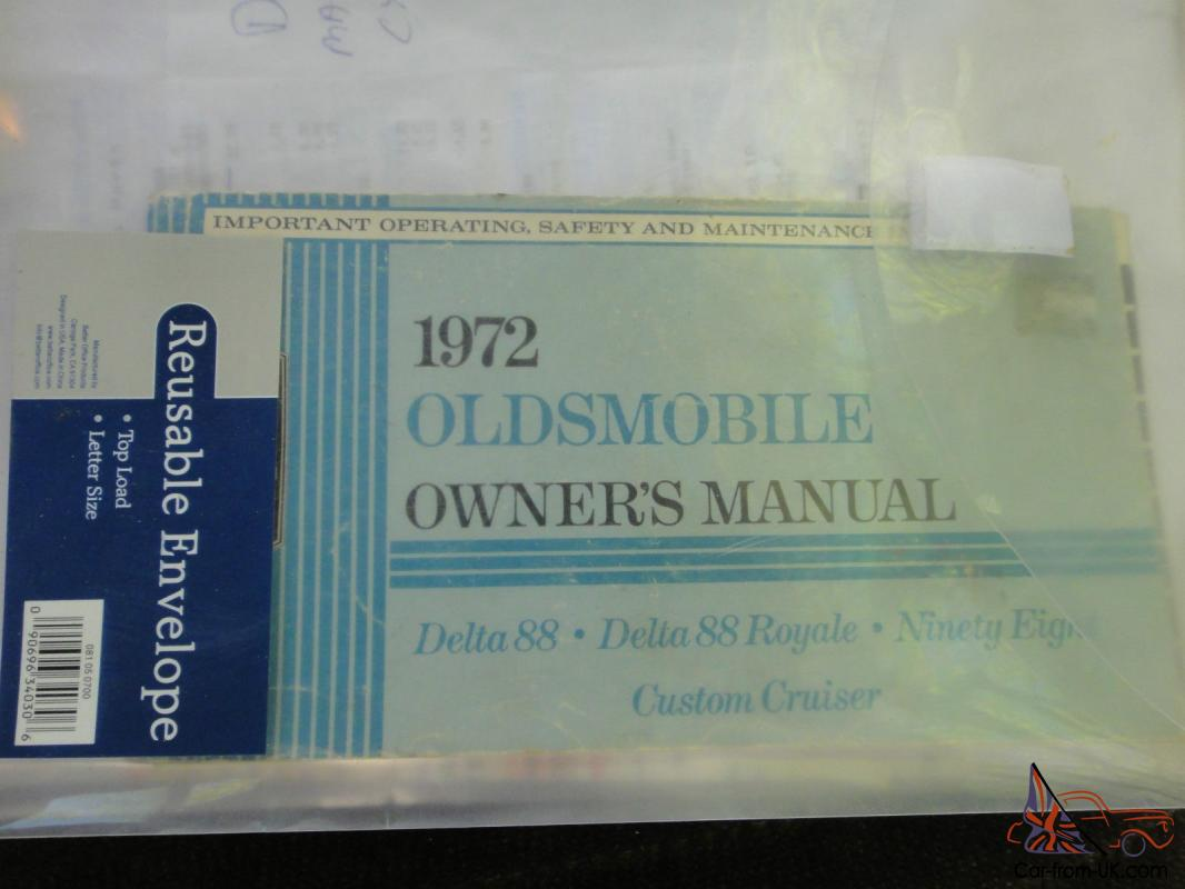 1968 Oldsmobile 442 Convertble 1 Family Owned Matching Numbers 400 Camaro Tic Toc Tach Wiring Diagram