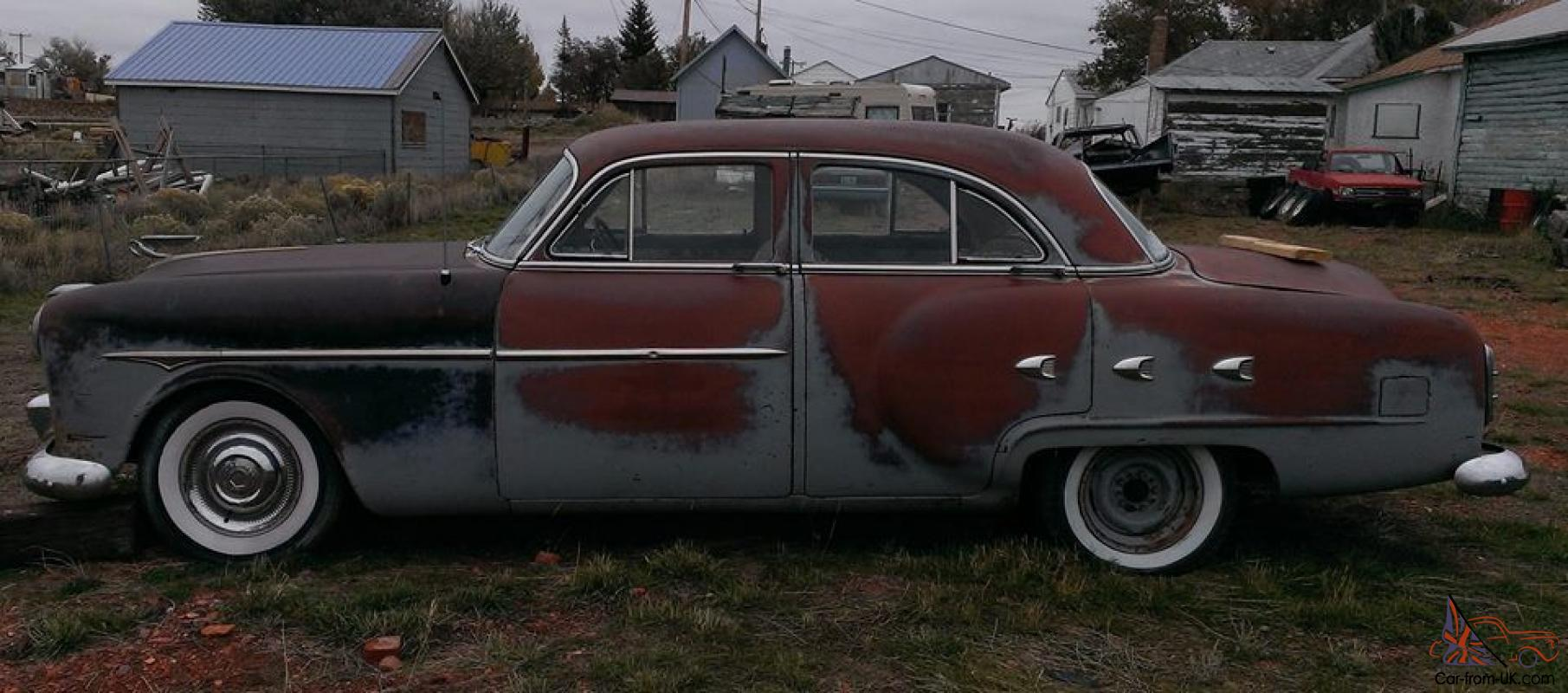 1952 packard 4 door project car all original most for 1952 packard 4 door sedan