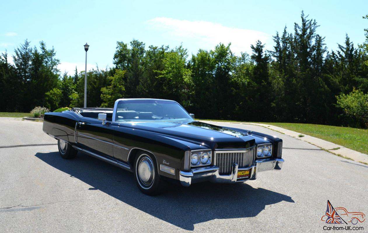 1972 cadillac eldorado convertible 2 door 8 2l for 1972 cadillac eldorado interior