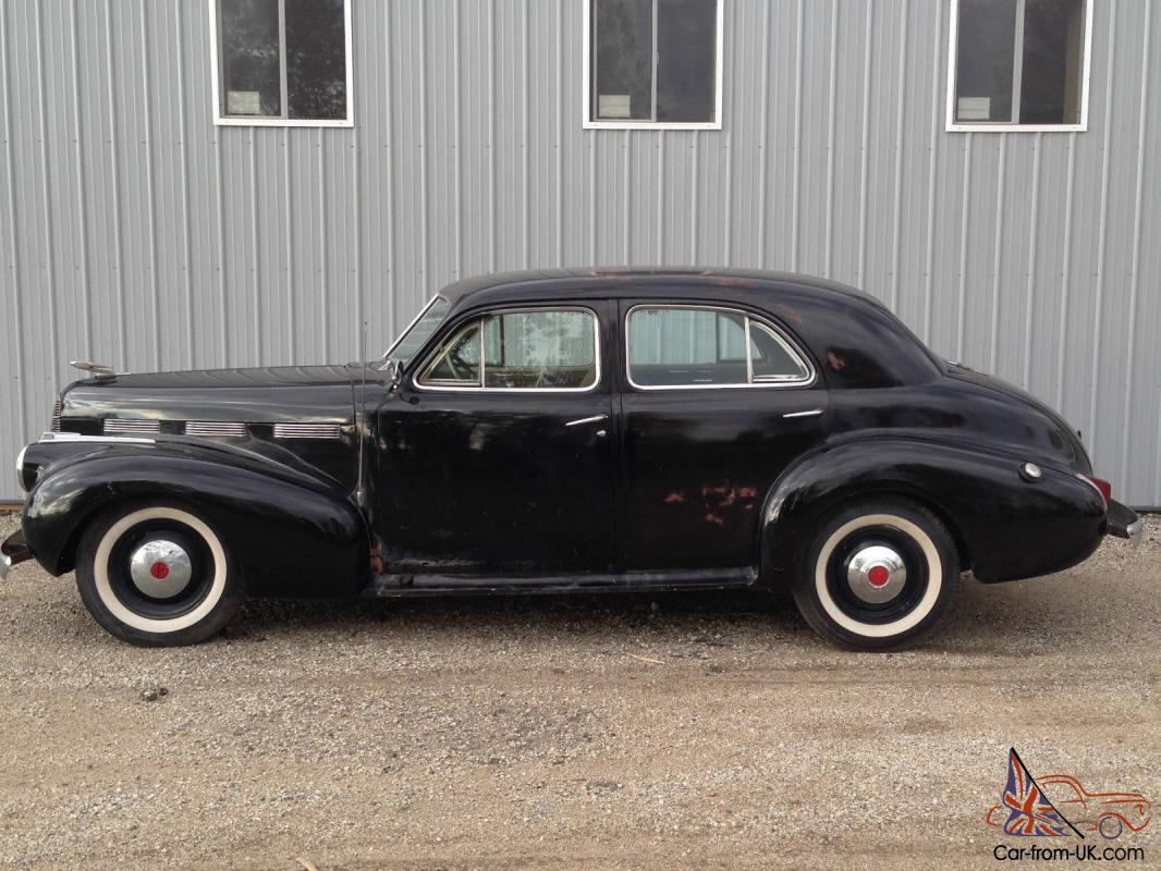 LaSalle La Salle Cadillac Barn Find Car hot rod 1938 1939 1940 V8