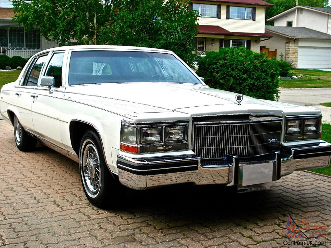 cadillac fleetwood brougham one owner from new 30k original miles full history. Black Bedroom Furniture Sets. Home Design Ideas