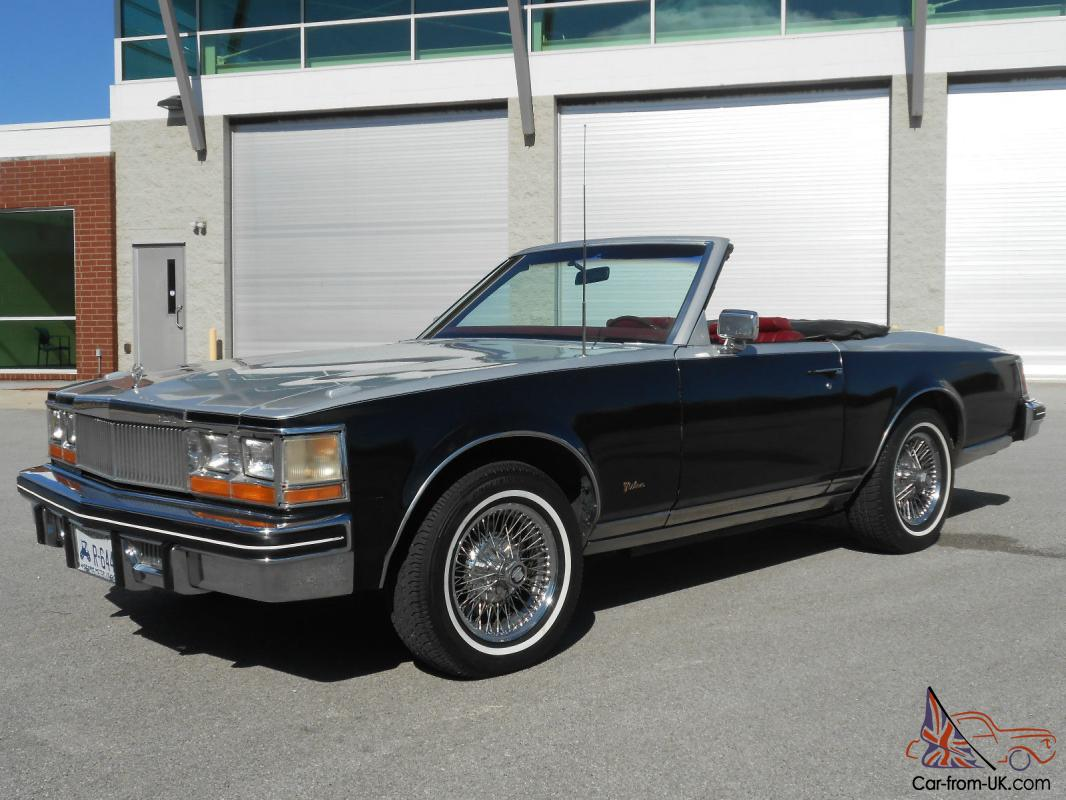 1988 Cadillac Allante Base Convertible 2-Door 4.1L