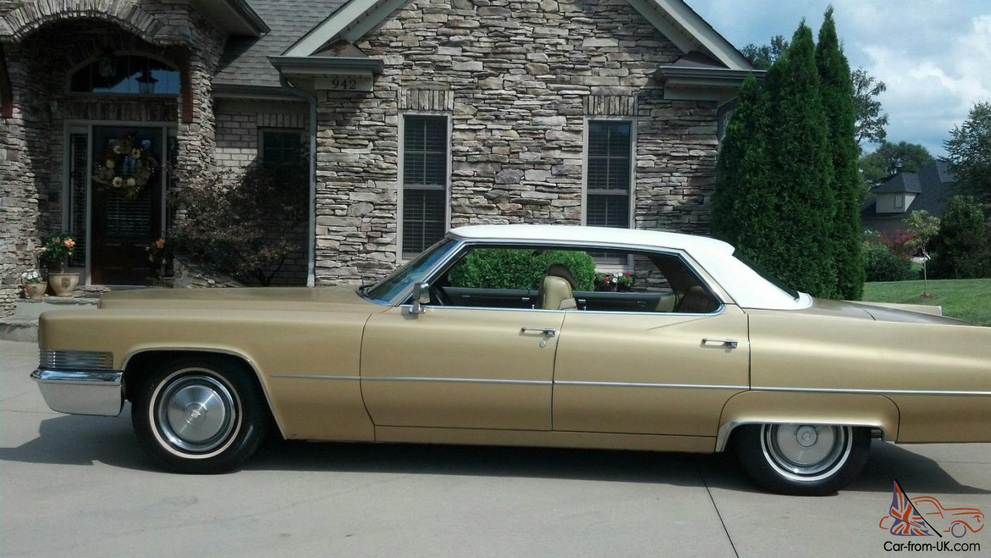 Used Cars For Sale Under 6000 >> 1970 Cadillac Sedan Deville