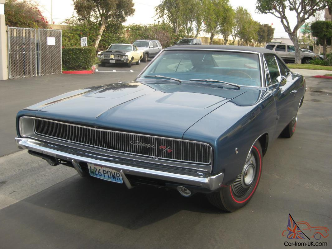 1968 hemi charger r t for Dodge charger hemi motor for sale
