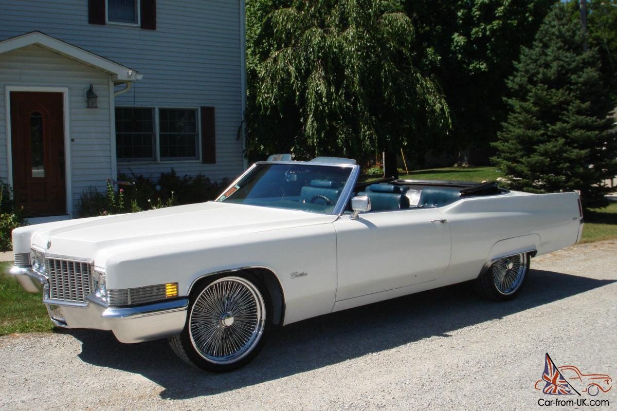 1970 cadillac convertible. Black Bedroom Furniture Sets. Home Design Ideas