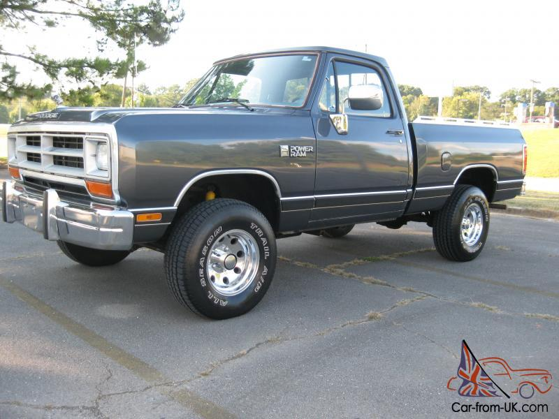 1987 dodge ram w100 4x4 318 v8 short bed 4 speed manual transmission rh car from uk com dodge ram 2500 manual transmission for sale dodge diesel manual transmission for sale