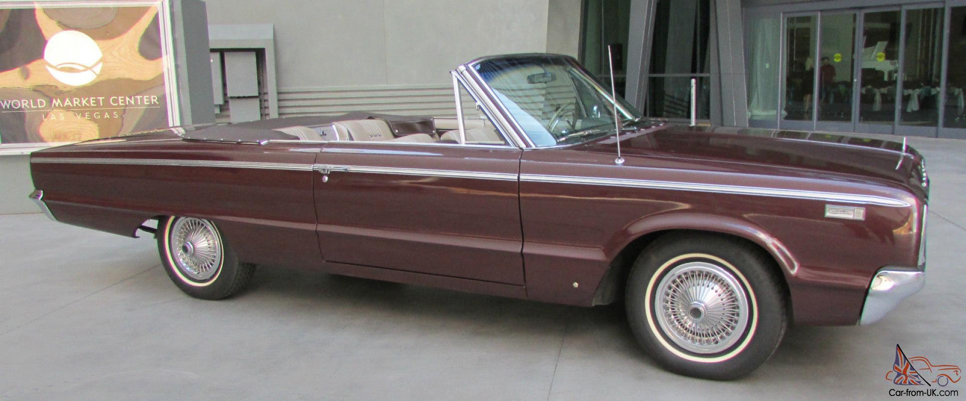 1965 dodge custom 880 convertible