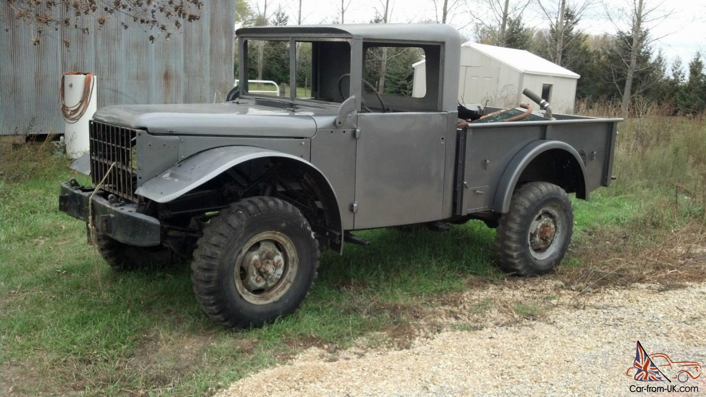 1951 M37 Dodge Power Wagon Truck
