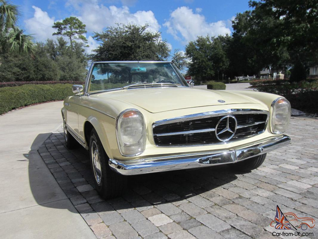 1965 mercedes benz euro 230sl w113 pagoda for Mercedes benz 280sl pagoda