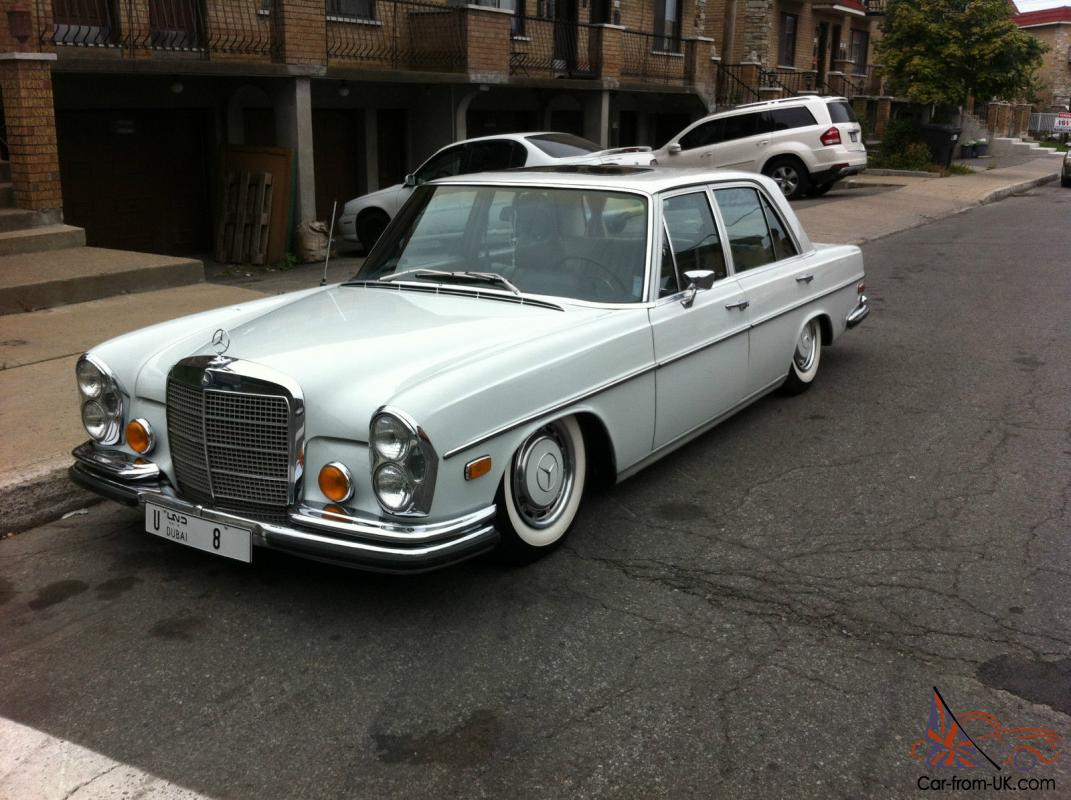 1969 mercedes benz 280s excellant condition classic body for Mercedes benz 1969