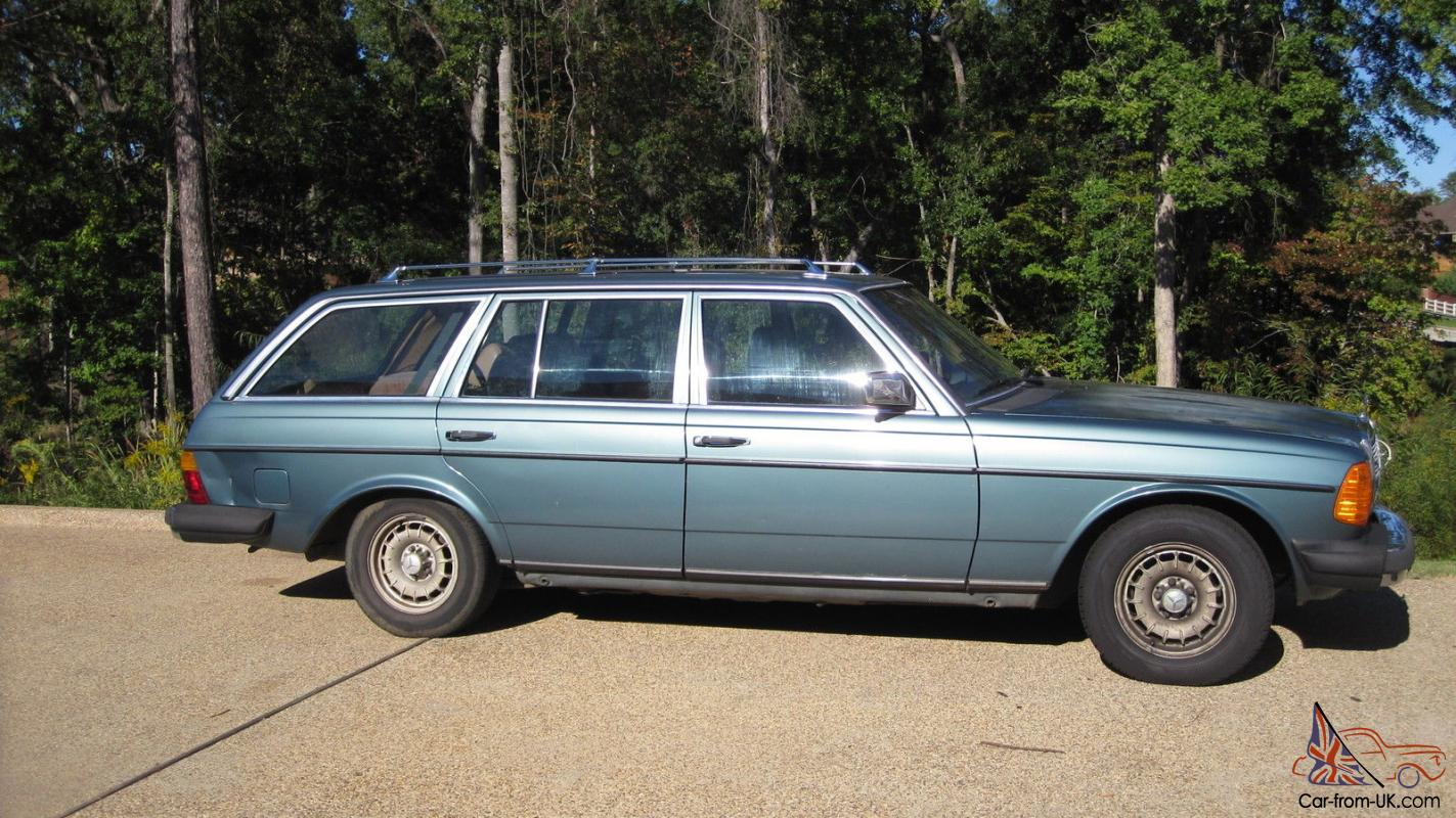 1985 mercedes benz 300td turbo diesel wagon 238 695 miles for Mercedes benz diesel wagon for sale
