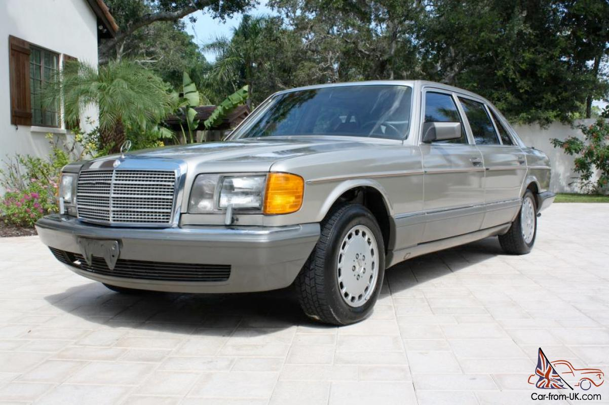 1986 mercedes benz 420sel one owner florida car for For sale by owner mercedes benz