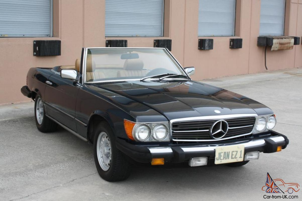 1982 mercedes benz 380sl nice daily driver for Nice mercedes benz
