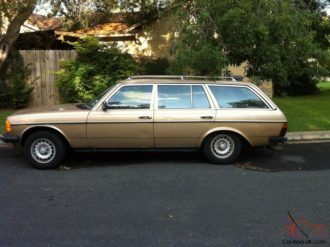 1985 mercedes benz 300td base wagon 4 door 3 0l