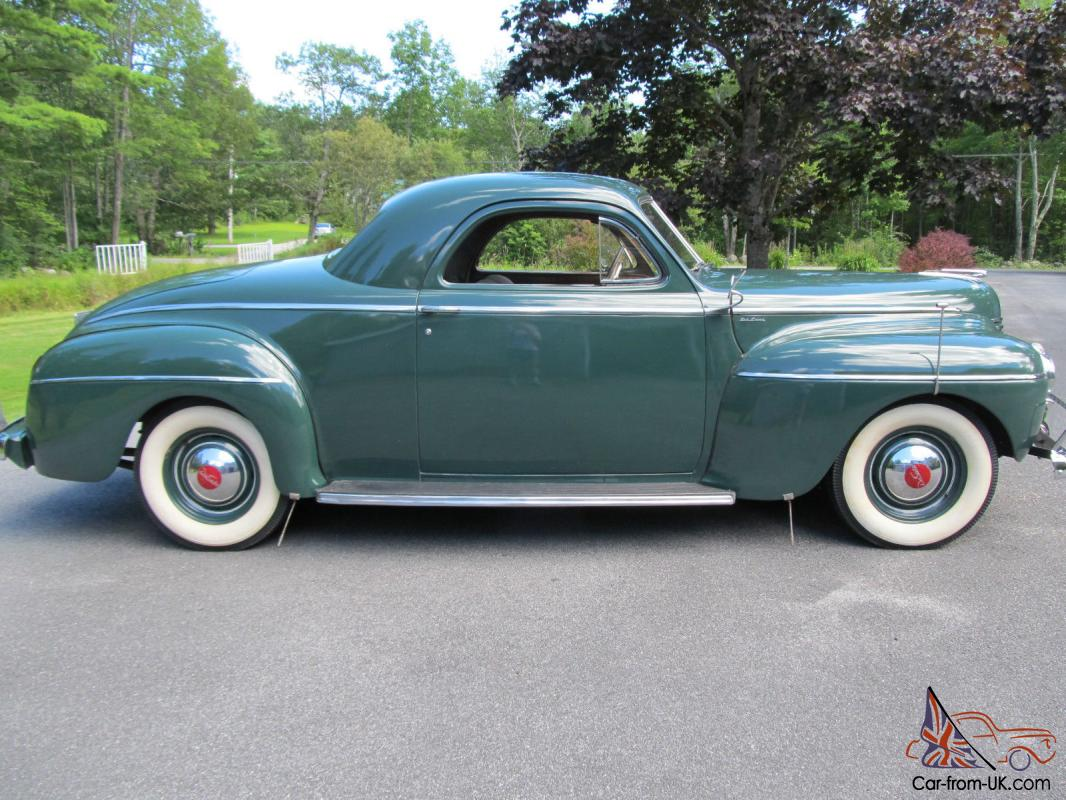 Beautiful Antique 1941 Desoto Deluxe Business Coupe In