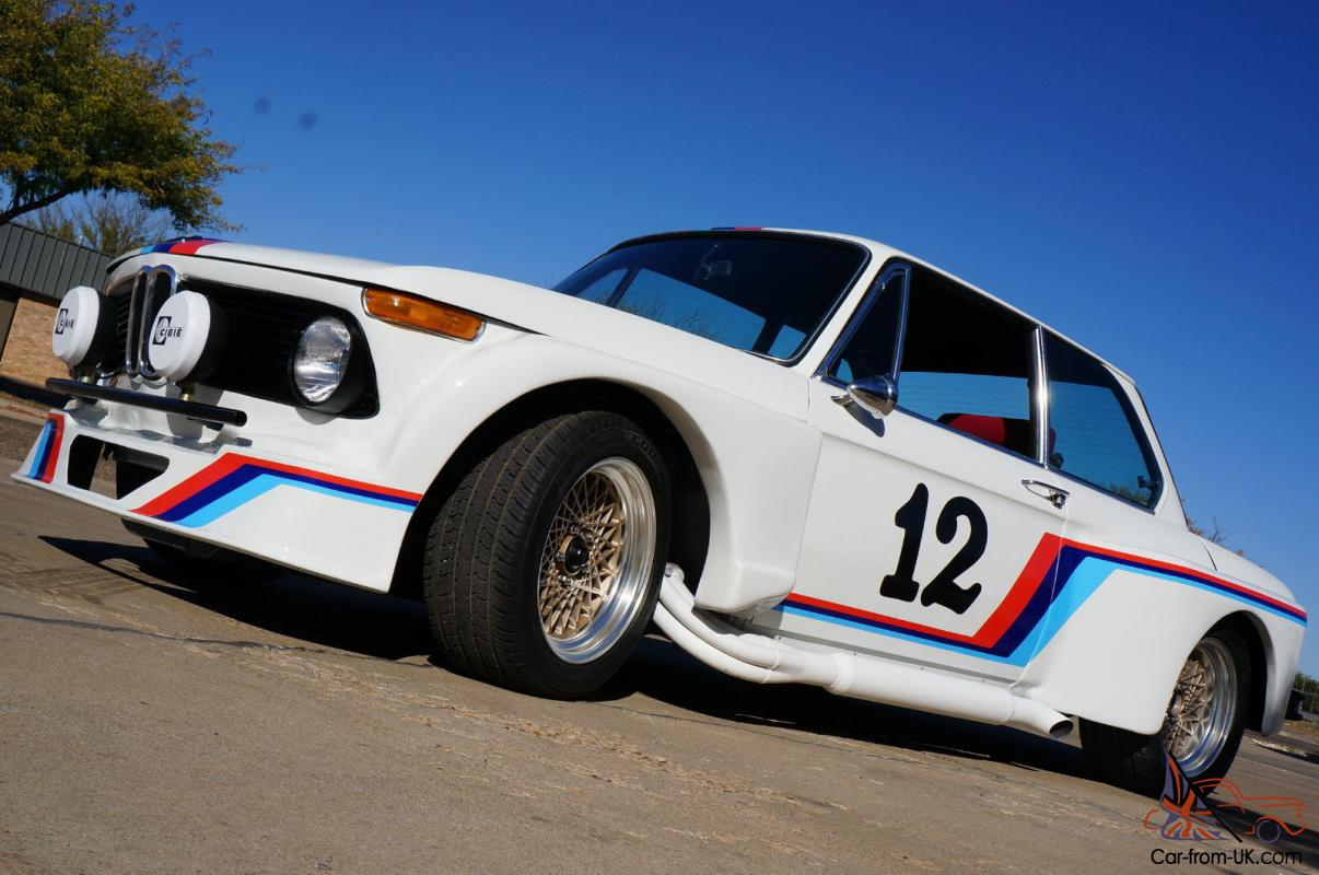 BMW 2002 On COBRA KIT Car Chassis 5.0L 5 Speed Rally Race Car Look 1969  Title