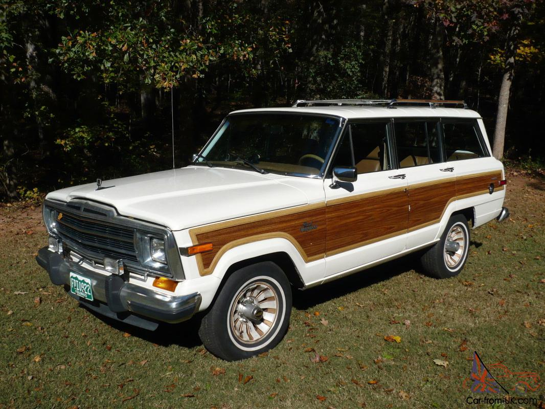 jeep grand wagoneer 1986 amc low miles all original. Black Bedroom Furniture Sets. Home Design Ideas