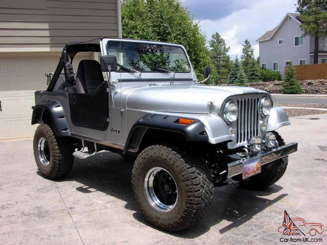& 1985 Jeep CJ7 Sport Utility 2-Door 4.2L