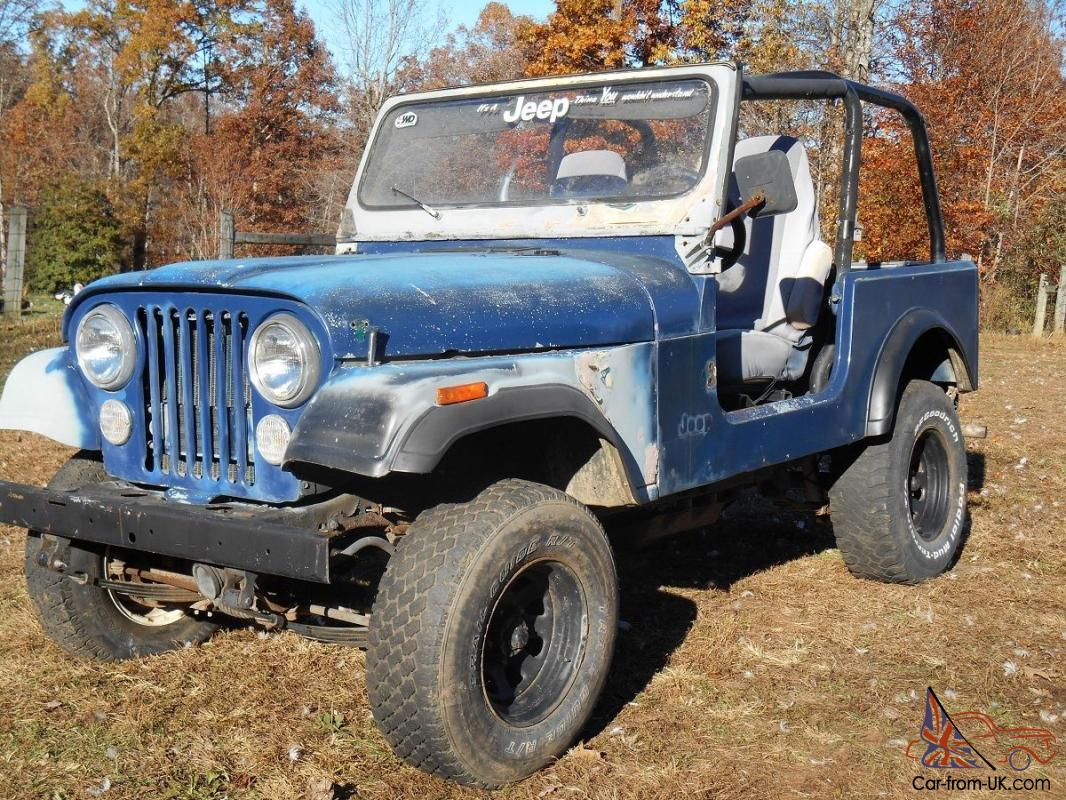 1979 jeep cj7 with yj wrangler tub project or parts cj. Black Bedroom Furniture Sets. Home Design Ideas