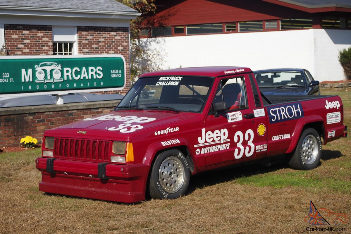 1998 jeep comanche race truck driven to 1988 scca. Black Bedroom Furniture Sets. Home Design Ideas