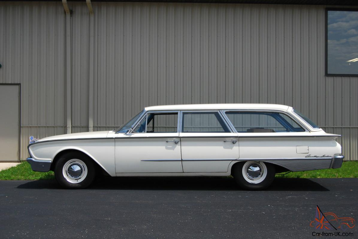 1960 Ford Country Sedan Wagon