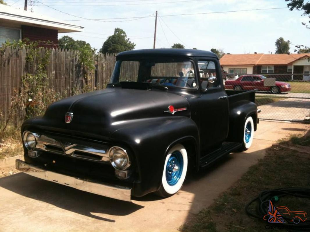 1956 Ford Pickup Truck F100 Kustom Sweet Driver Ready To Go Drive 1964 It Home