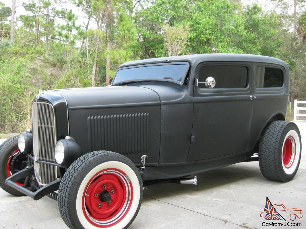 1932 ford chopped steel 2 door sedan traditional style hot for 1932 ford four door sedan