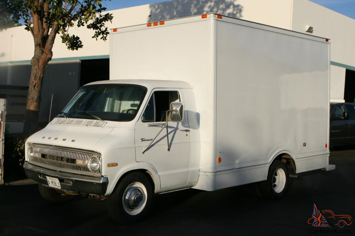 Dodge Trucks For Sale By Owner >> 1973 Dodge B300 Grumman Body Hi Cube Van Shop Truck