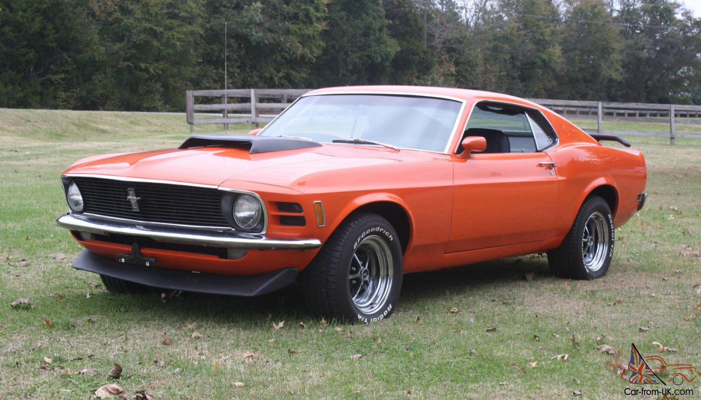 1970 ford mustang fastback 351c 5 speed all original metal no rust photo