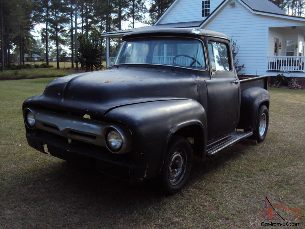 1956 f100 big window ford truck project 53 54 55 56 for 1956 ford f100 big window truck for sale