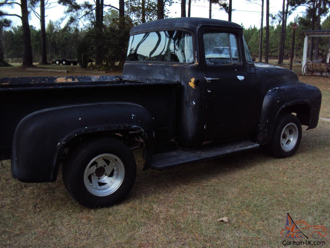 1953 55 ford f100 project truck for autos weblog for 1956 big window ford truck sale