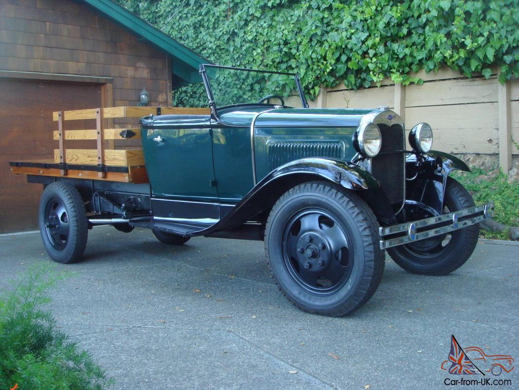 1930 Aa 1 5 Ton Ford Flatbed Truck Complete Home