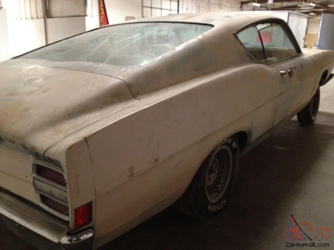 1968 ford fairlane 500 no motor no trans selling this with a bill of sale